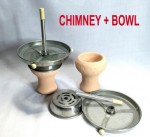 CHIMNEY BOWL FOR HOOKAH